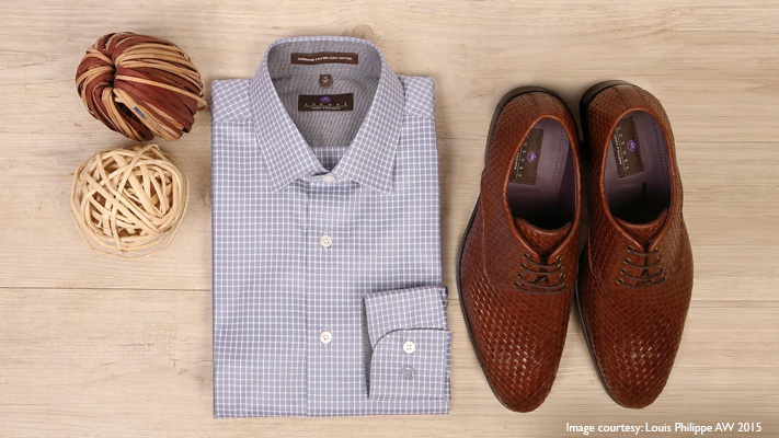 checked shirt brown lace ups play stylish host