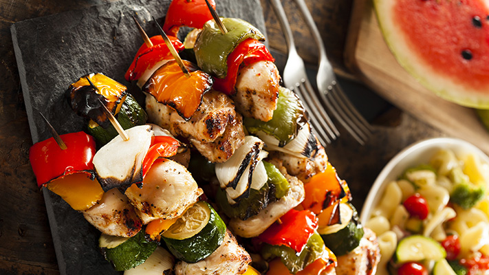 chicken skewers a must have food during monsoon
