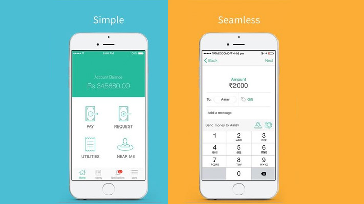 chillr mobile app for cashless payments