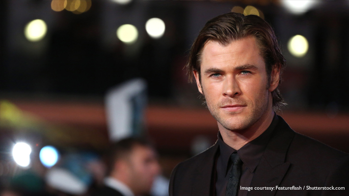 chris hemsworth talking on in the heart of the sea