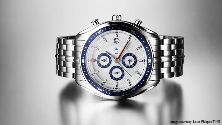 chronograph watch sporty chic look