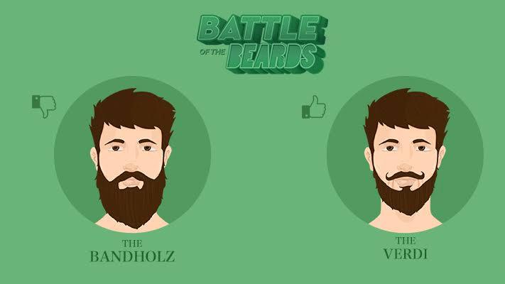 classic bandholz vs verdi beard