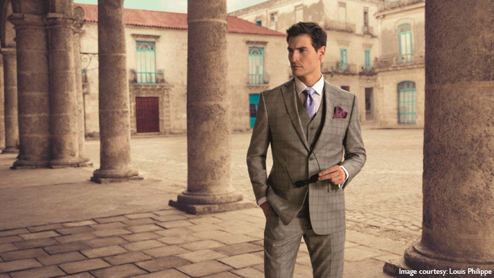 classic grey suit for refreshed office look