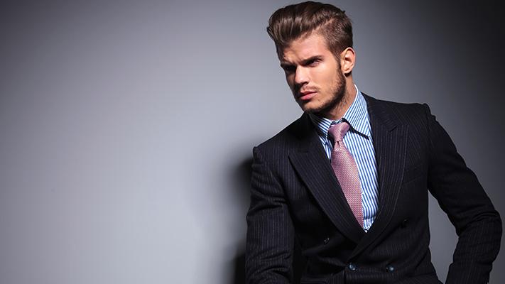 classic suit shirt combination for men