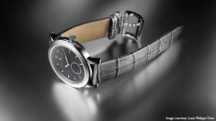 classy crocodile finish watchstrap dressy appeal