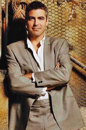 Handsome George Clooney