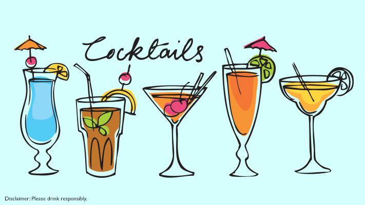 cocktail glasses for bartender