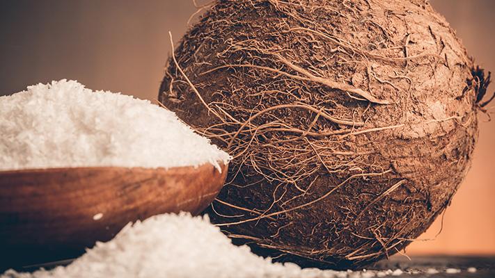 coconut flour rich source fibre low glycemic index