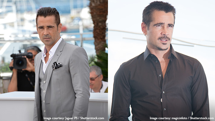 colin farrell in cool stylish appearance