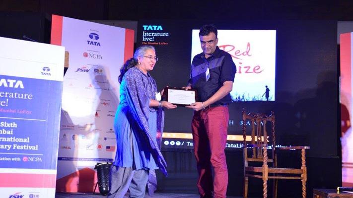danesh rana won first book award for fiction