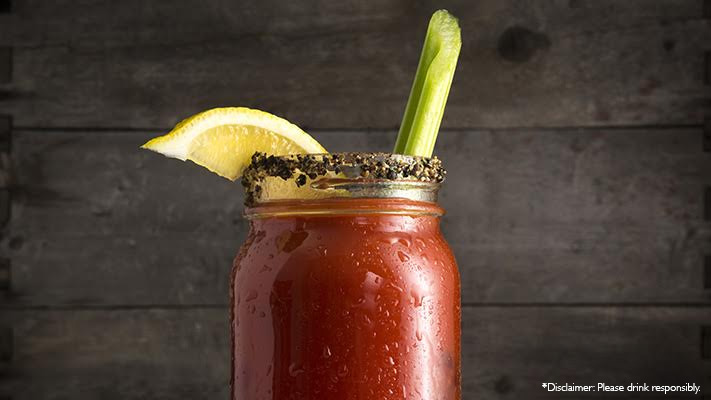 delicious bloody maria with tequila