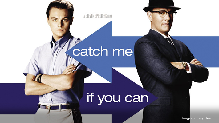 di caprio classic daper look from catch me if you can
