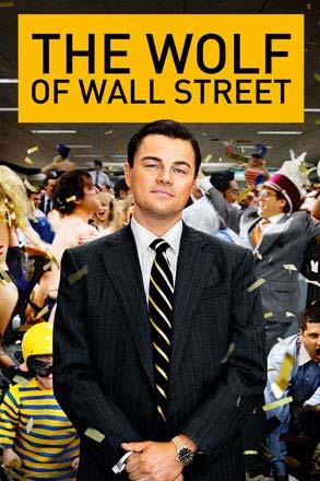 Leonardo DiCaprio Wolf of Wall Street stills poster