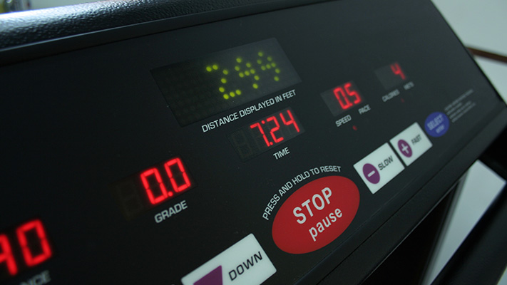 do not rely on cardio machine calorie burnt display