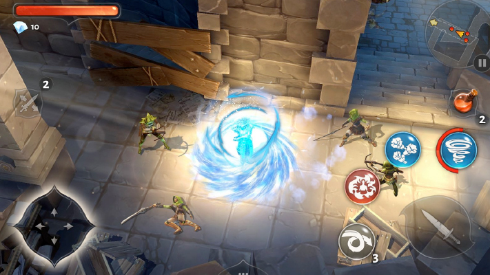 dungeon hunter 5 top android ios games