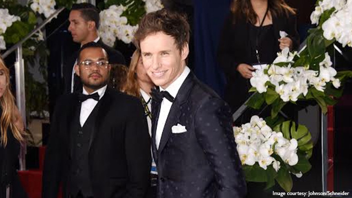 eddie redmayne best dressed celebrity at golden globe awards