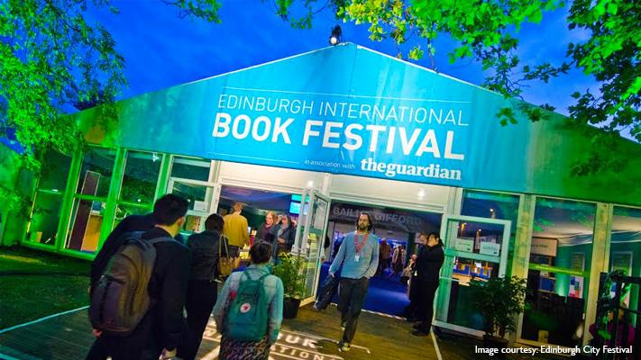 edinburgh international book festival scotland