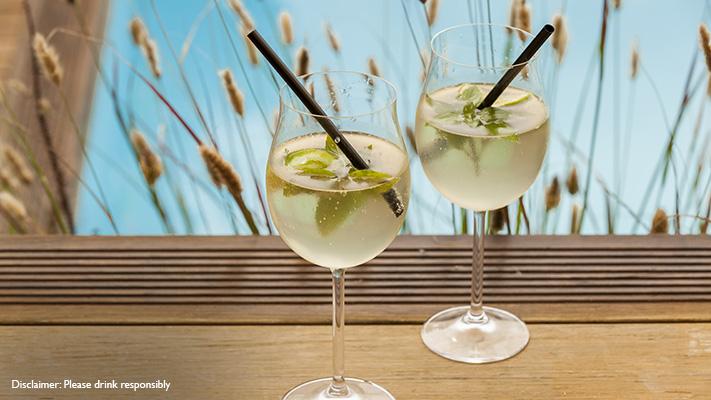 elderflower spritzer cocktail recipe