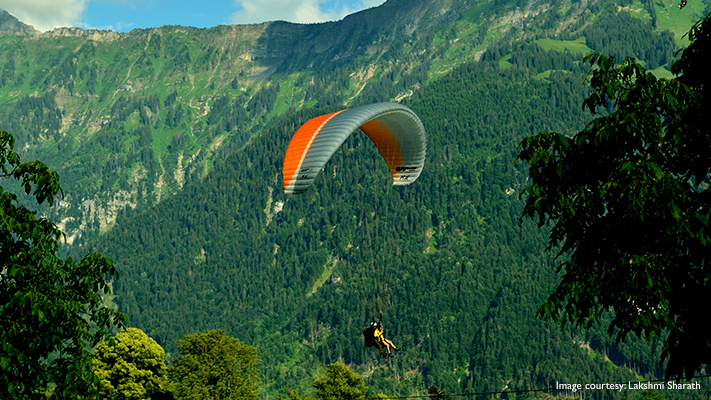 enjoy the beauty of switzerland with paragliding