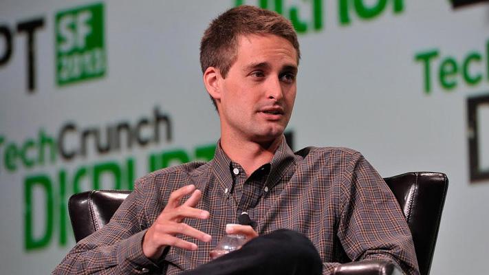 evan spiegel co founder of snapchat