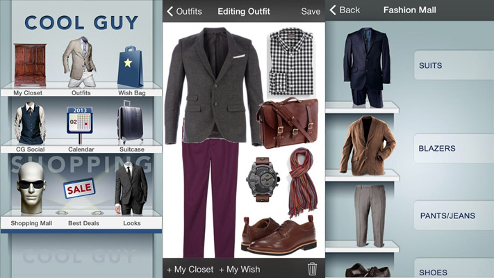 Fashion apps for men Cool Guy