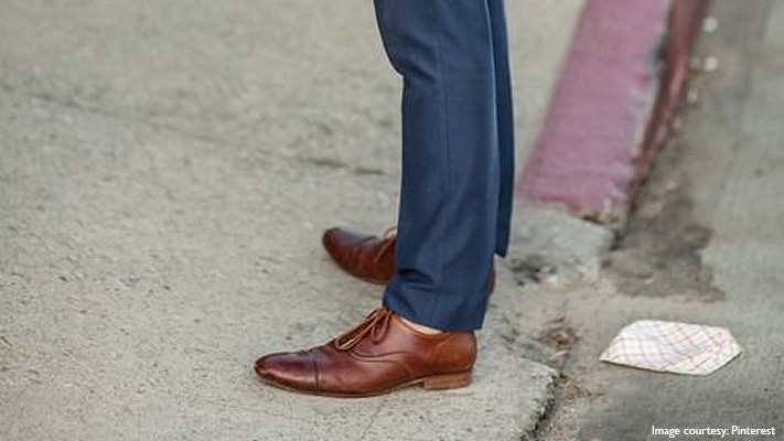 fashion guide to match suit and brown shoes