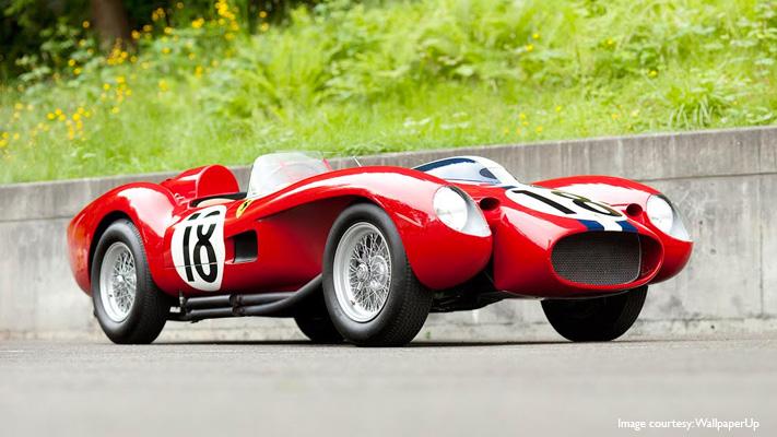 ferrari 250 testa rossa the most expensive car
