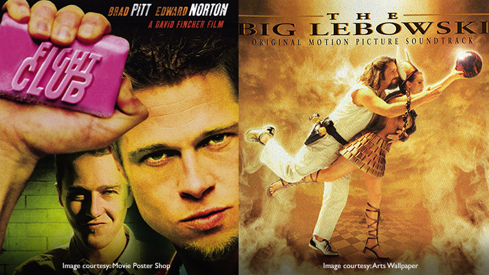 fight club and the big lebowski must see movies of the 90s