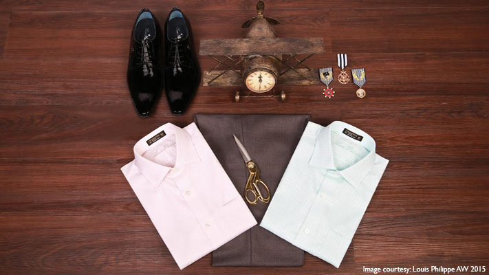 formal light coloured shirt to impress client