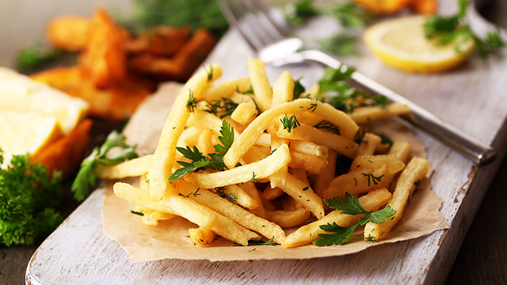 french fries are must have monsoon fried food