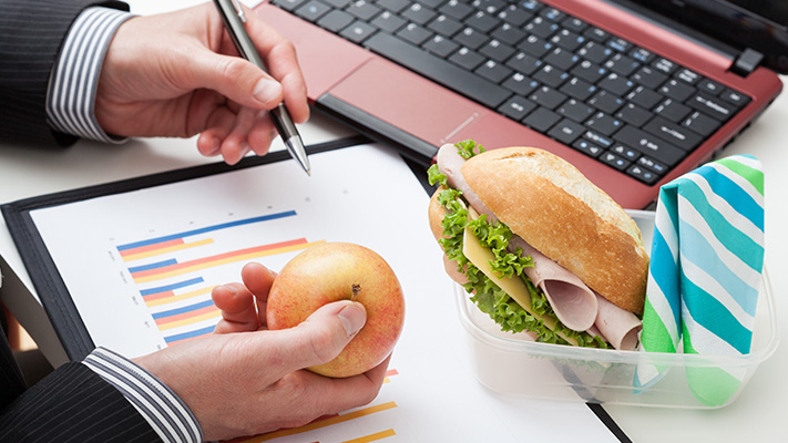 frequent snacking at office harmful habit to relieve stress