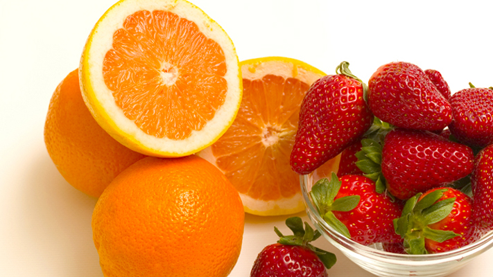 Keep calm and eat well Fruits