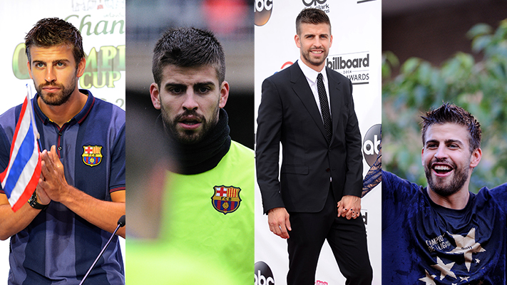 gerard pique most stylish soccer players