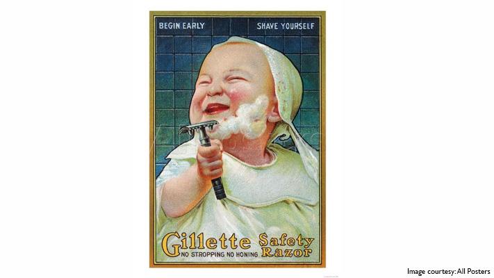gillette razor blade for men