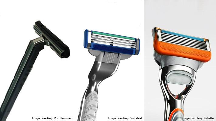 gillette shaving razor blades