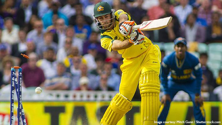 glenn maxwell australian cricket batsman