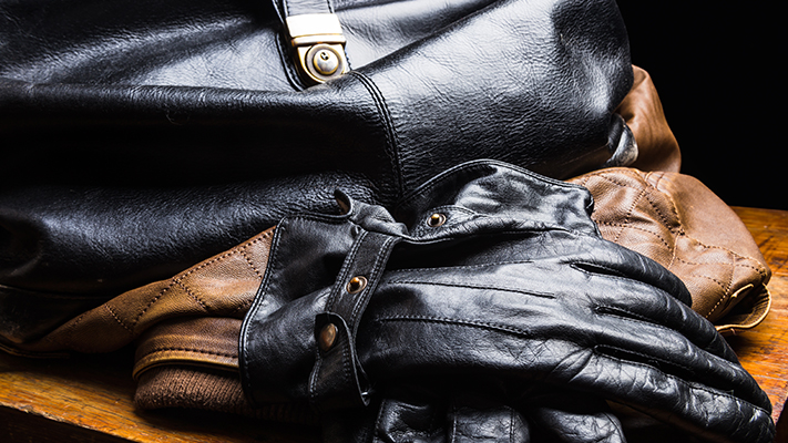 guide to take care of leather accessories