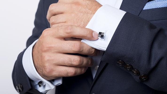 guide to wearing cufflinks properly
