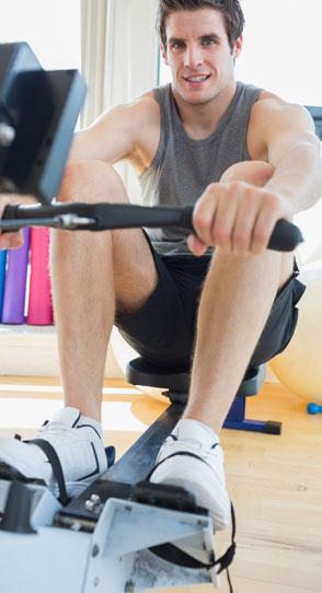 Elliptical Cross Trainer in Gym Equipment -