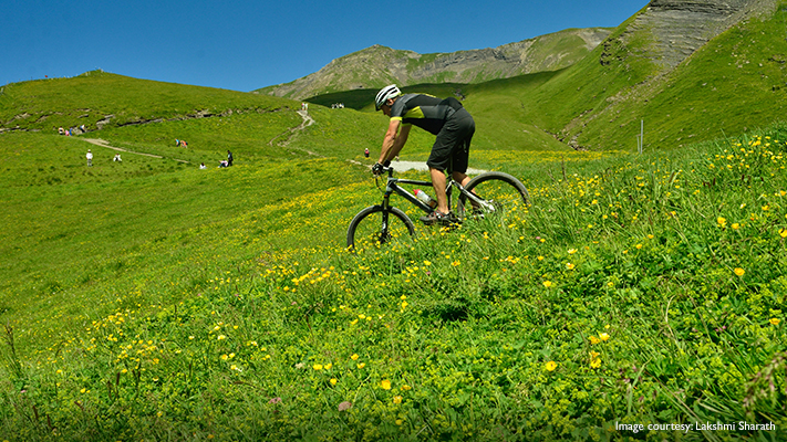 hiking and biking for mountain lovers