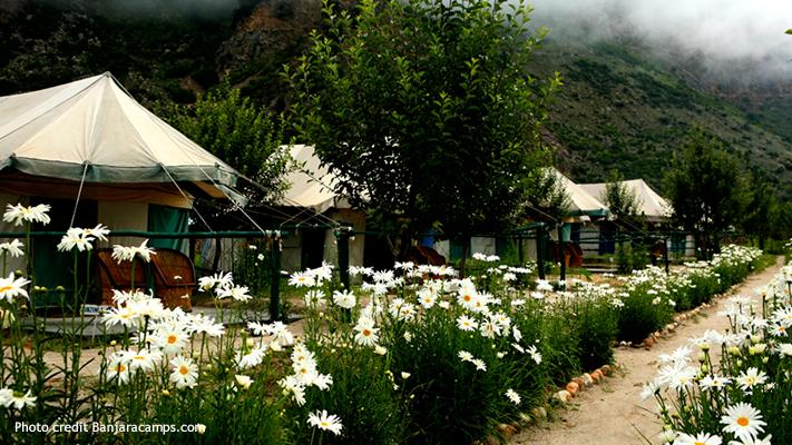 himalayas top glamping locations