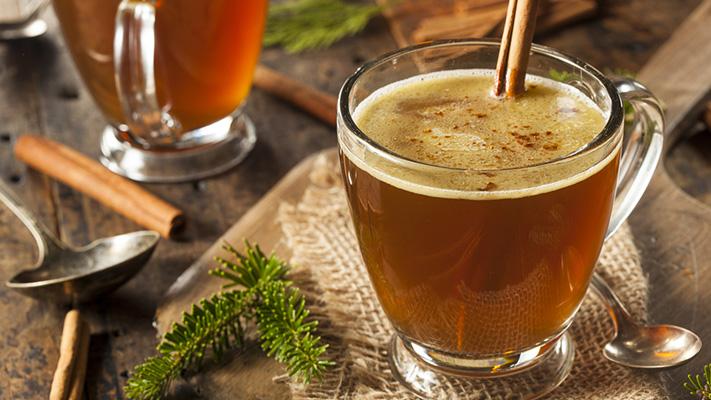 hot buttered rum best winter drinks