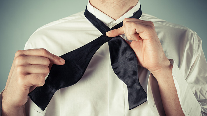 how to master perfect bow tie knot
