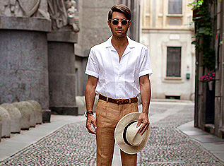 how-to-style-beige-trousers