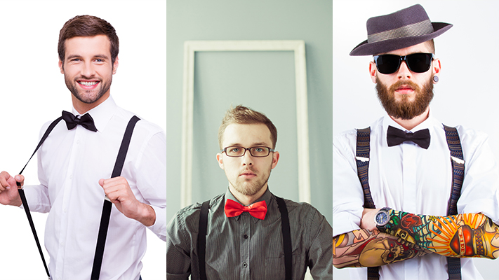 How to wear bow tie and suspenders the right way how to wear bow tie with suspenders ccuart Gallery