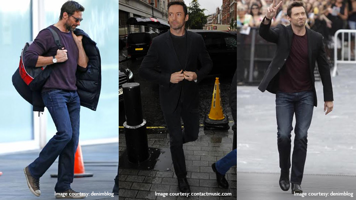 hugh jackman stylish denim outfits