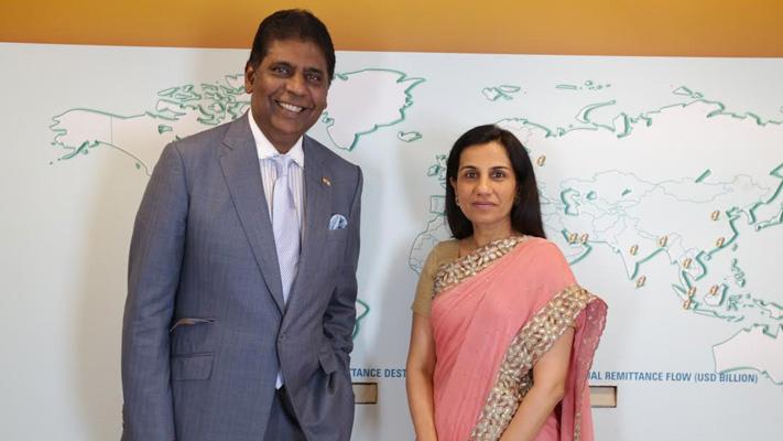in pursuit of excellence chanda kochhar interview vijay amritraj