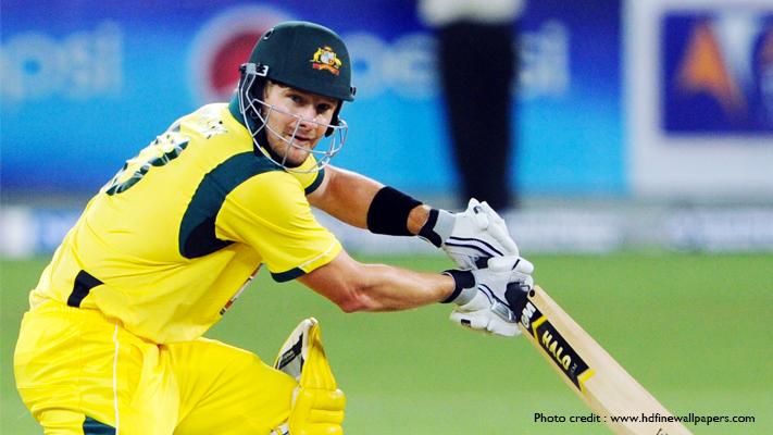 india vs australia top batsman shane watson
