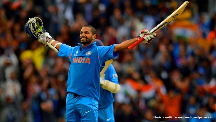 india vs australia top batsman shikhar dhawan