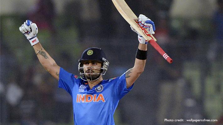 india vs australia top batsman virat kohli